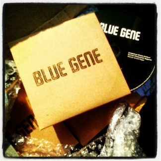 The BLUE GENE debut E.P.